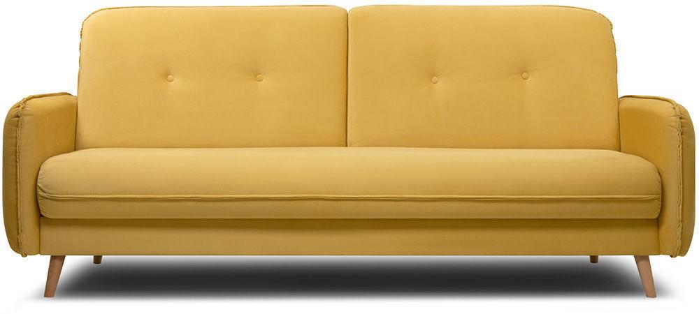Диван Woodcraft Стаус Velvet Yellow - фото 1