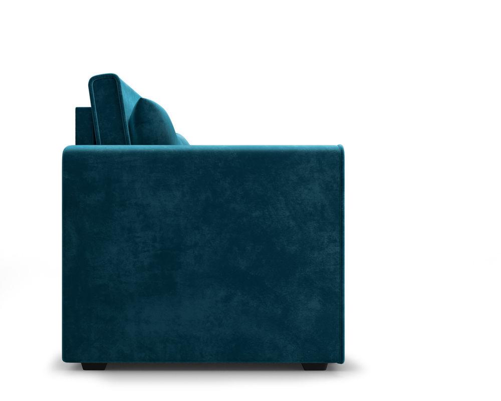 Диван Мебель-АРС Санта (бархат сине-зеленый  STAR VELVET 43 BLACK GREEN) - фото 3