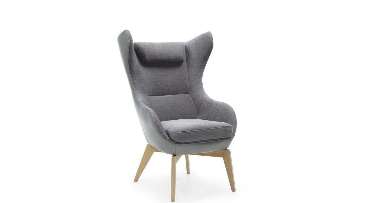 Кресло Gala Collezione Zing на деревянных ножках - фото 1