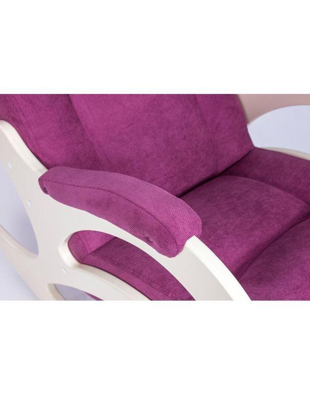 Кресло Impex Модель 44 б/л Verona сливочный (Antrazite grey) - фото 4