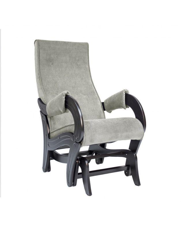 Кресло Impex Кресло-гляйдер Модель 708 Verona (light grey) - фото 1