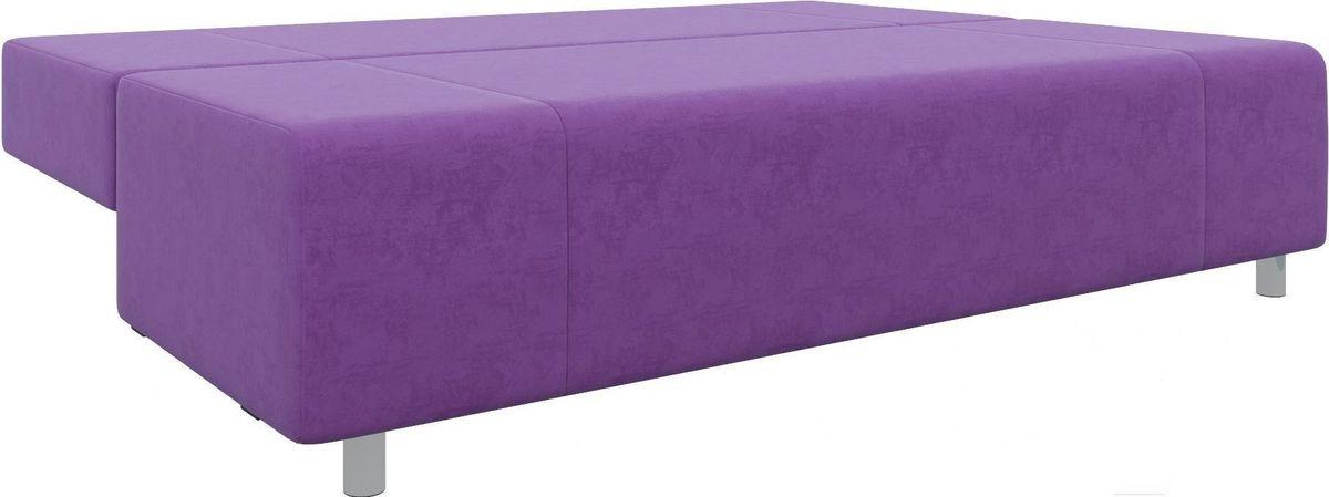 Диван Mebelico Чарли 63 микровельвет фиолетовый - фото 3