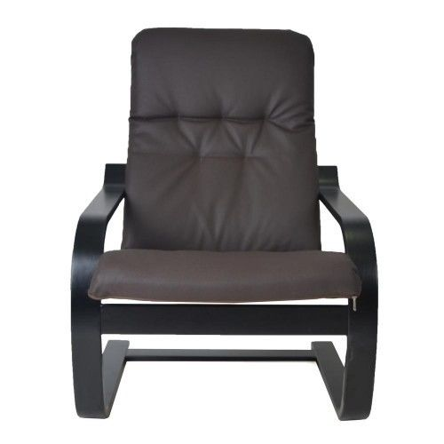 Кресло Greentree Сайма венге/экокожа Шоколад - фото 2
