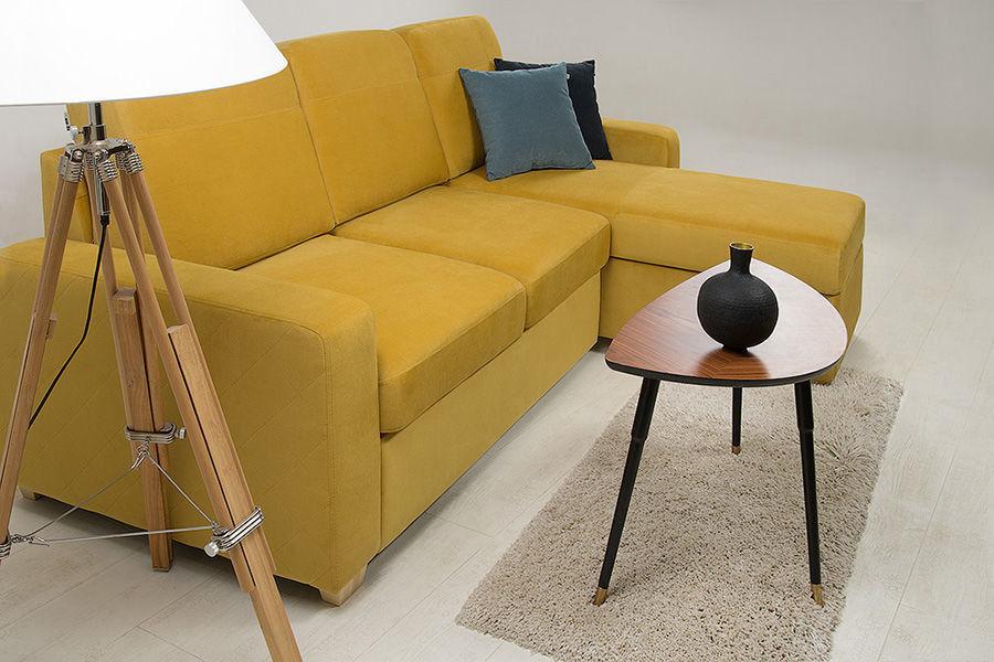 Диван Woodcraft Модульный Гувер-2 Velvet Yellow (уцененный) - фото 3