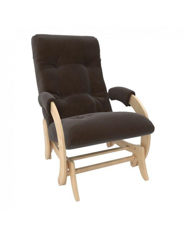 Кресло Impex Кресло-гляйдер Модель 68 Verona натуральный (brown) - фото 1