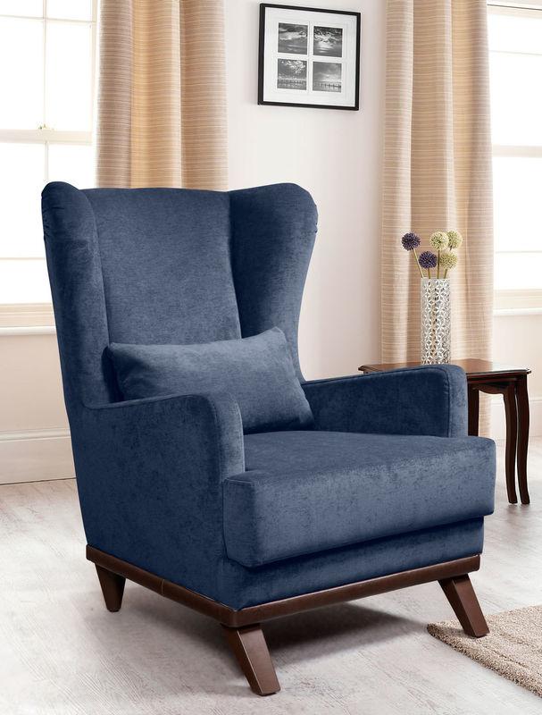 Кресло ZMF Хьюстон Dark Blue - фото 1