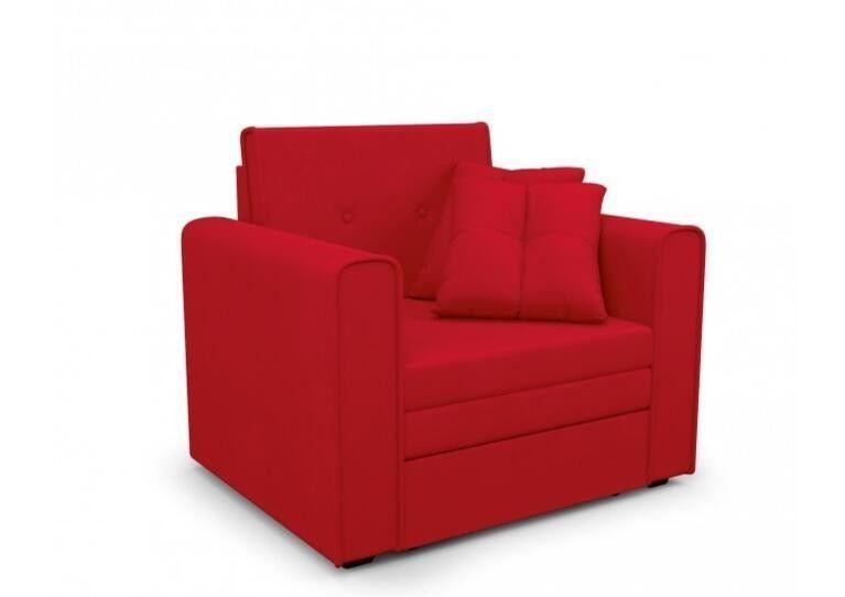 Кресло Craftmebel Санта (кордрой красный) - фото 1