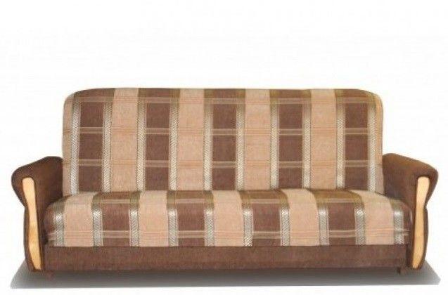 Диван Луховицкая мебельная фабрика Уют шинил (120x190) пружинный - фото 1