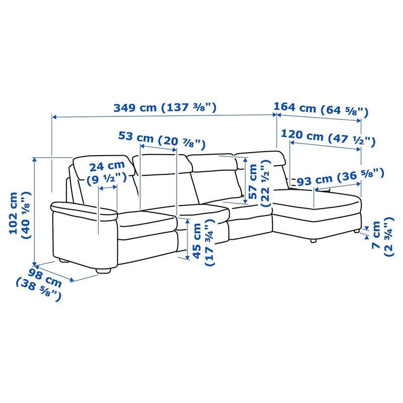 Диван IKEA Лидгульт [892.920.38] - фото 4