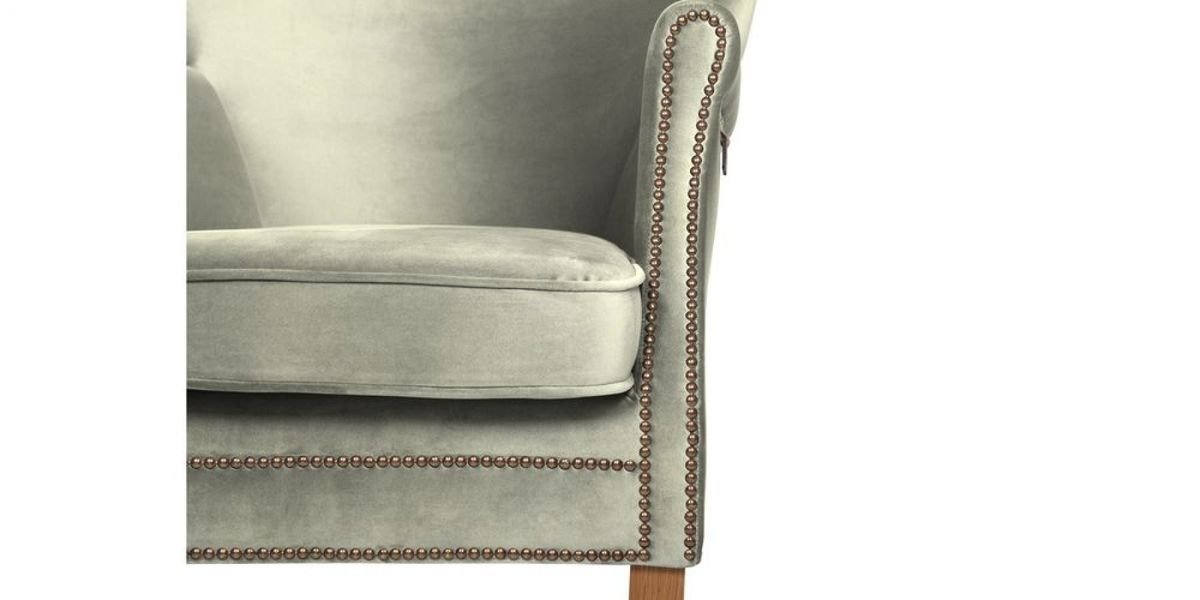 Кресло WOWIN Голден (Кремовый велюр) - фото 9