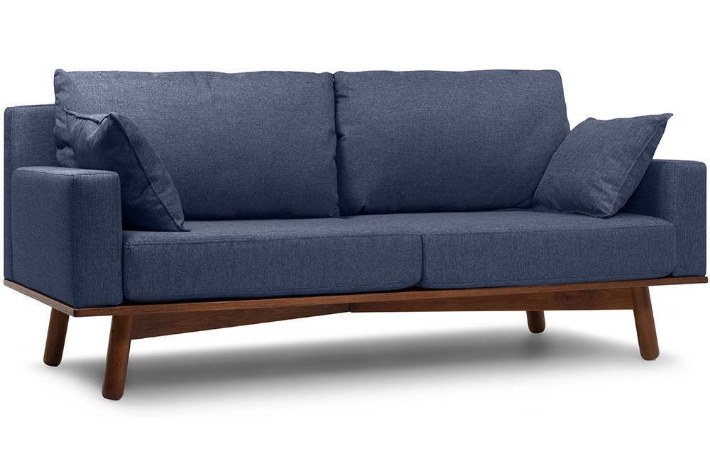 Диван Woodcraft Миннесота Textile Blue - фото 3