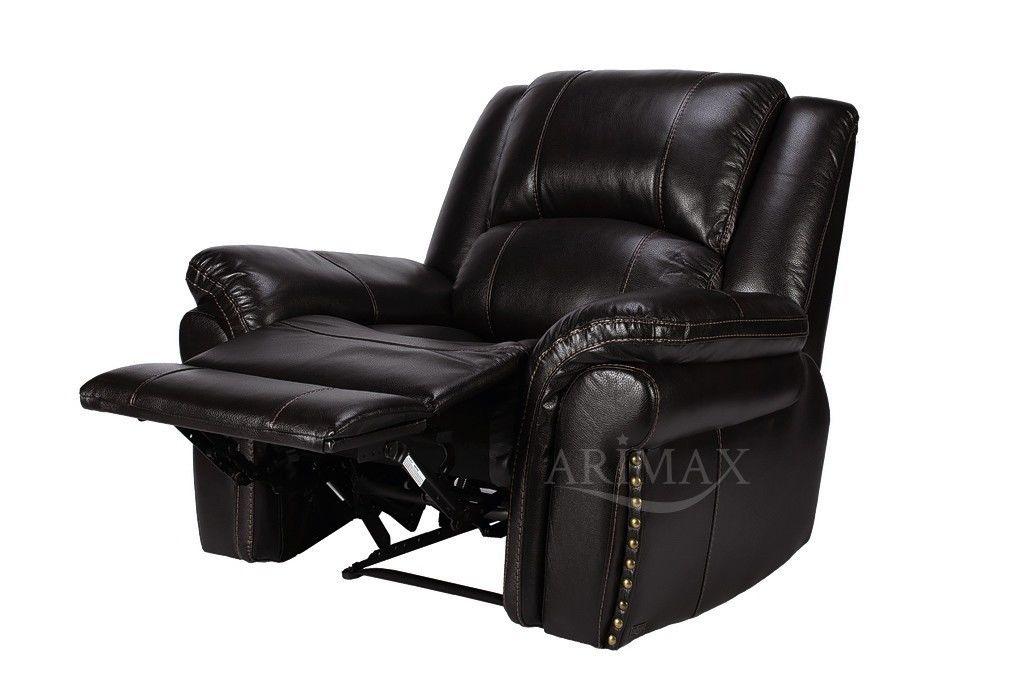 Кресло Arimax Каспер (Темно-коричневый) - фото 4