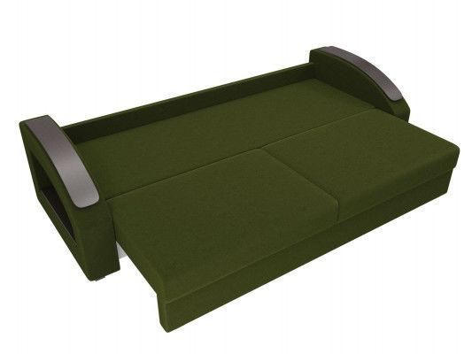 Диван ЛигаДиванов Канзас 100960 микровельвет зеленый - фото 6