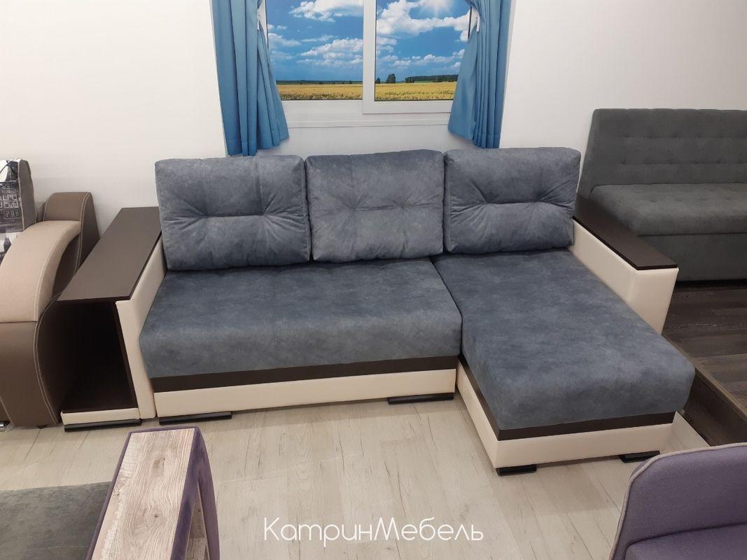 Диван DM-мебель Мадрид-4 угловой (серый) - фото 2