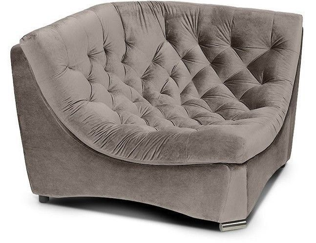 Диван Woodcraft Угловое кресло Монреаль Премиум Barhat Beige - фото 2
