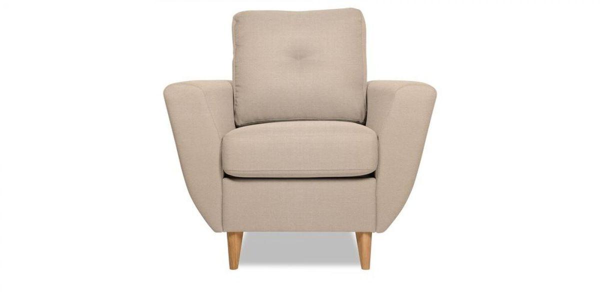 Кресло WOWIN Хоум (Дымчато-розовая микророгожка) - фото 2