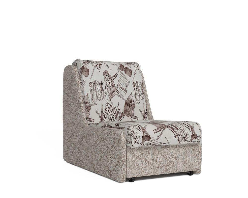 Кресло Мебель-АРС Аккорд №2 (газета коричневая) - фото 2