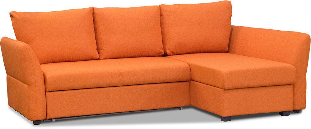 Диван Woodcraft Угловой Гесен Textile Orange - фото 2