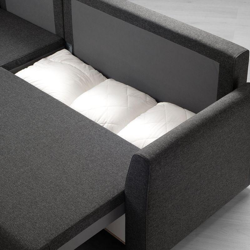 Диван IKEA Бриссунд темно-серый [804.481.81] - фото 6