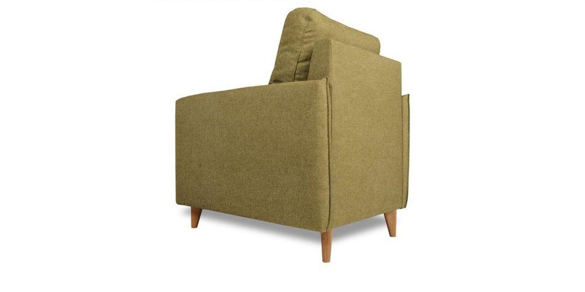 Кресло WOWIN Вест (Темно-песочный микровелюр) - фото 4