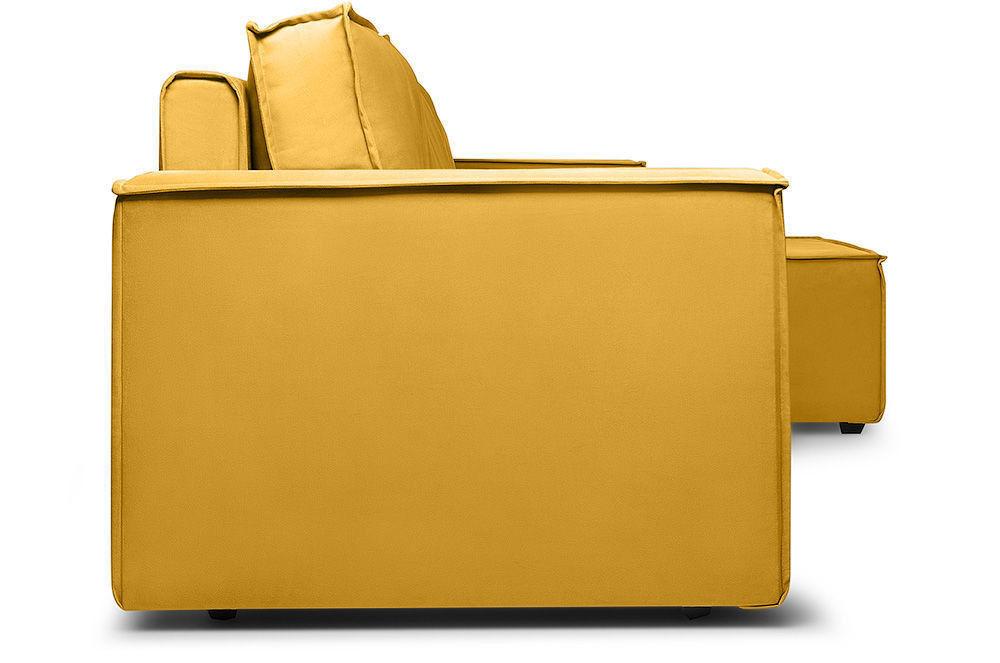 Диван Woodcraft Лофт Velvet Угловой Yellow - фото 8