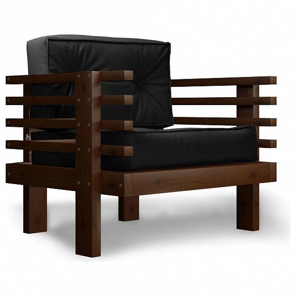 Кресло Anderson Стоун AND_123set370, черный - фото 1