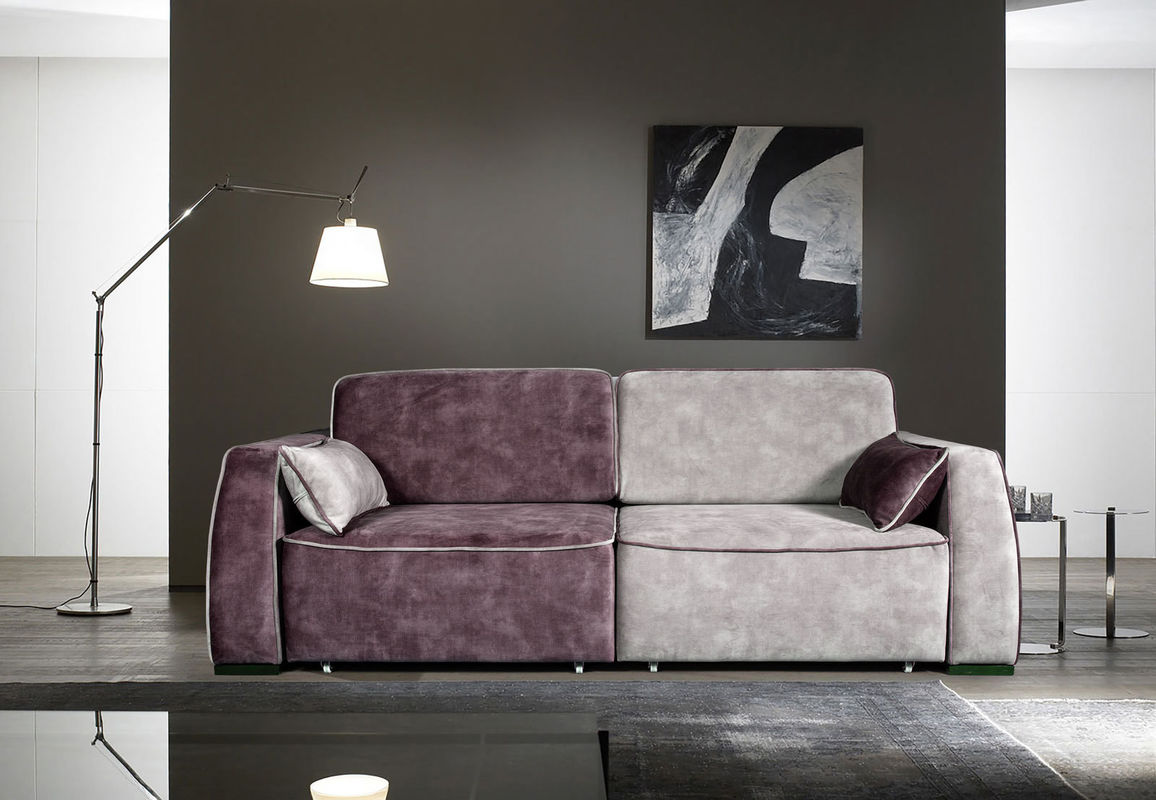 Диван ZMF Фабио (фиолетово-серый) - фото 1