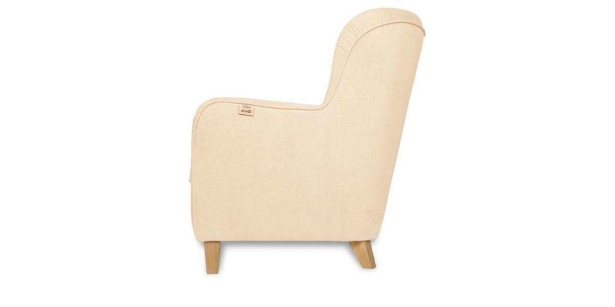 Кресло WOWIN Нуар (Дымчато-розовая микророгожка) - фото 4