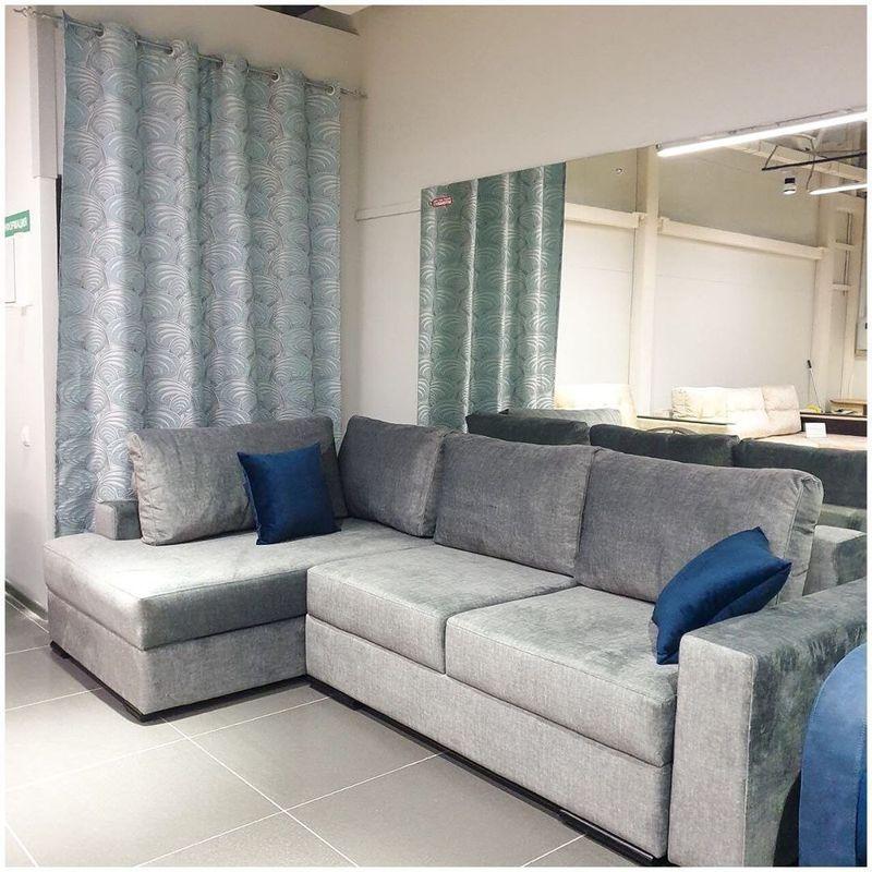 Диван DM-мебель Премьер (угловой, серый) - фото 1