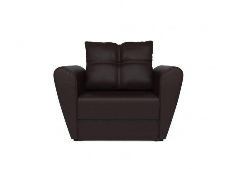 Кресло Craftmebel Квартет - экокожа шоколад - фото 7