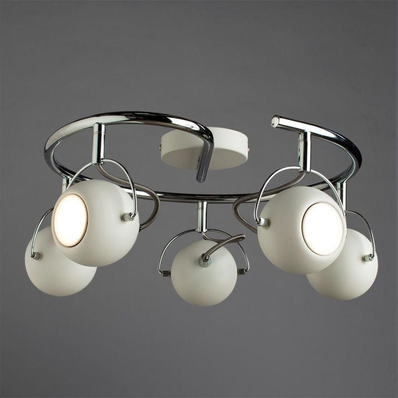 Настенно-потолочный светильник Arte Lamp 86 A9128PL-5WH - фото 3