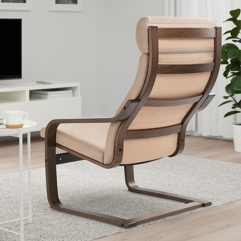 Кресло IKEA Поэнг 193.028.04 - фото 3