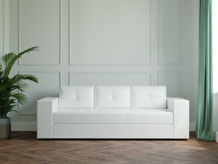 Диван Настоящая мебель Ванкувер Лайт (модель: 00-00003450) белый - фото 1