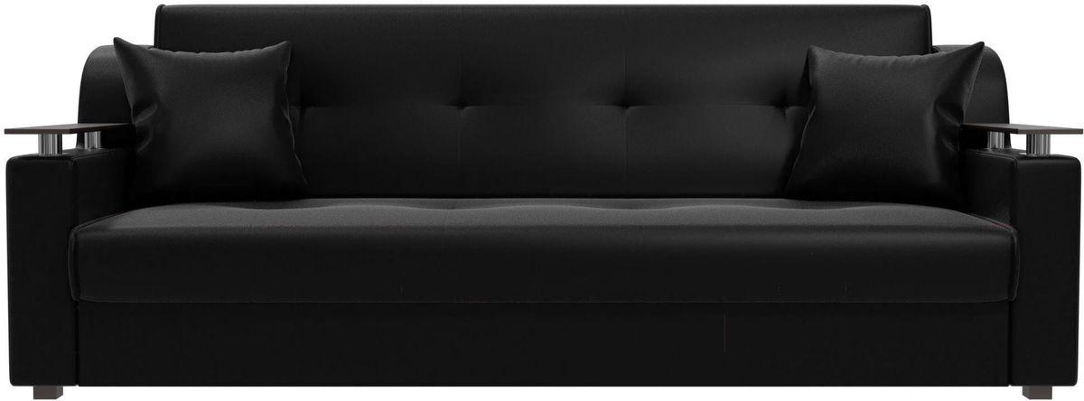 Диван Mebelico Сенатор 100632 экокожа черный - фото 4