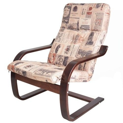 Кресло Greentree Сайма вишня/ткань Винум 02 - фото 1