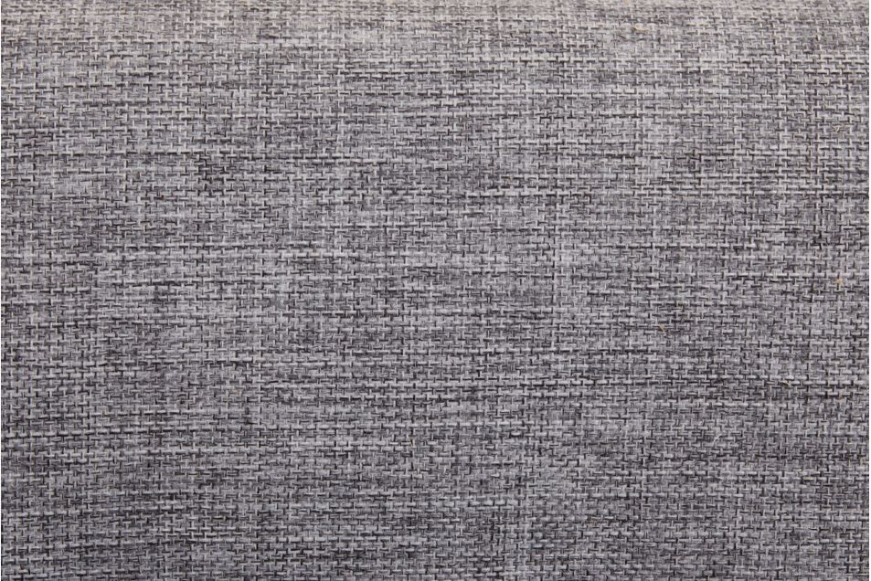 Диван Луховицкая мебельная фабрика Лондон (рогожка серая комби) пружинный 120x190 - фото 2