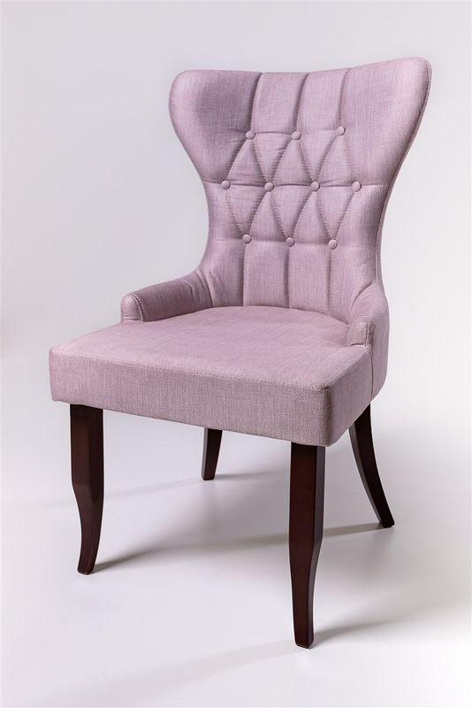 Кресло ФорестДекоГрупп Мимоза (розовый/черный) MIMOZA-PK-BL - фото 2