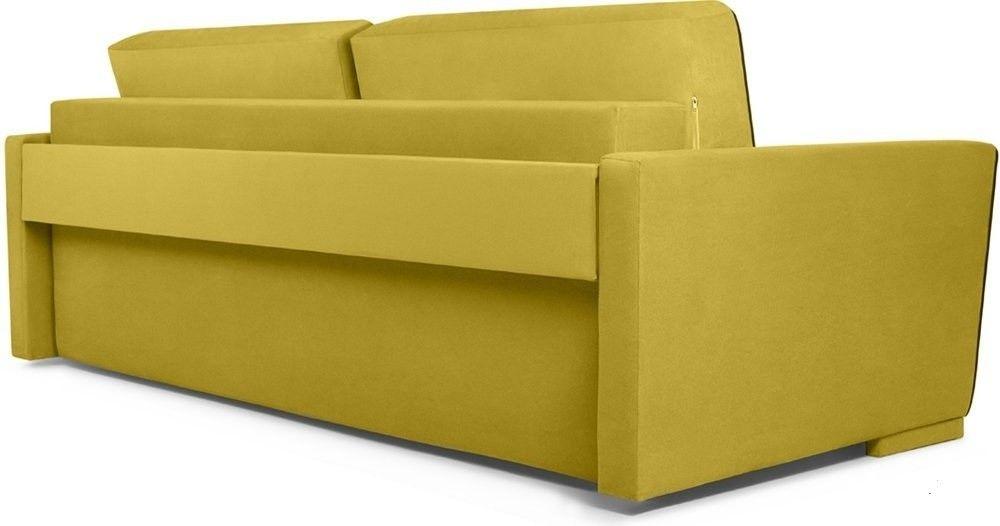 Диван Woodcraft Милан 150 Velvet Yellow - фото 3