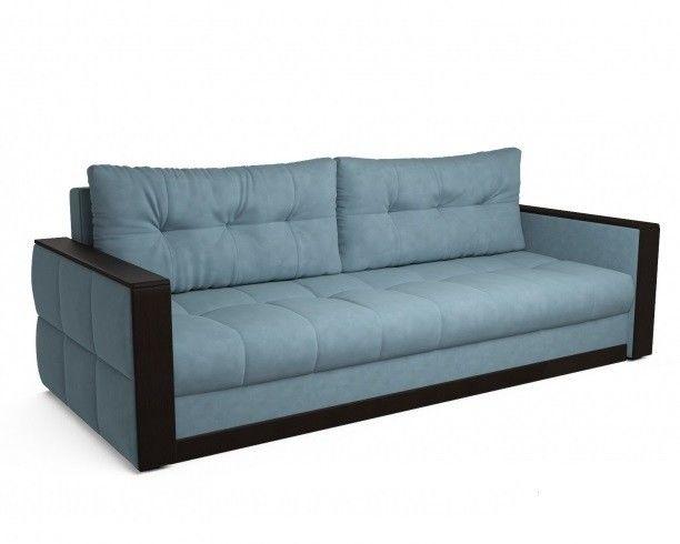 Диван Мебель-АРС Бостон Luna 089 голубой - фото 1