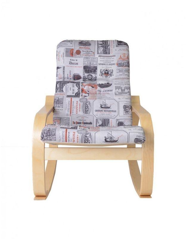 Кресло Impex Сайма натуральный (coffe) - фото 5