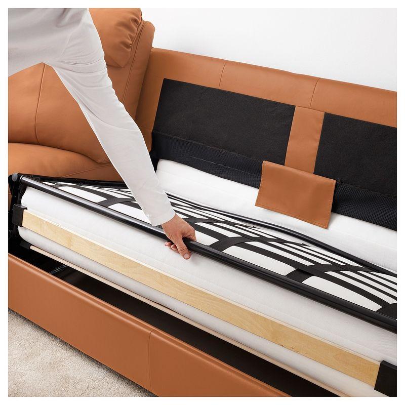 Диван IKEA Лидгульт золотисто-коричневый [892.661.62] - фото 6