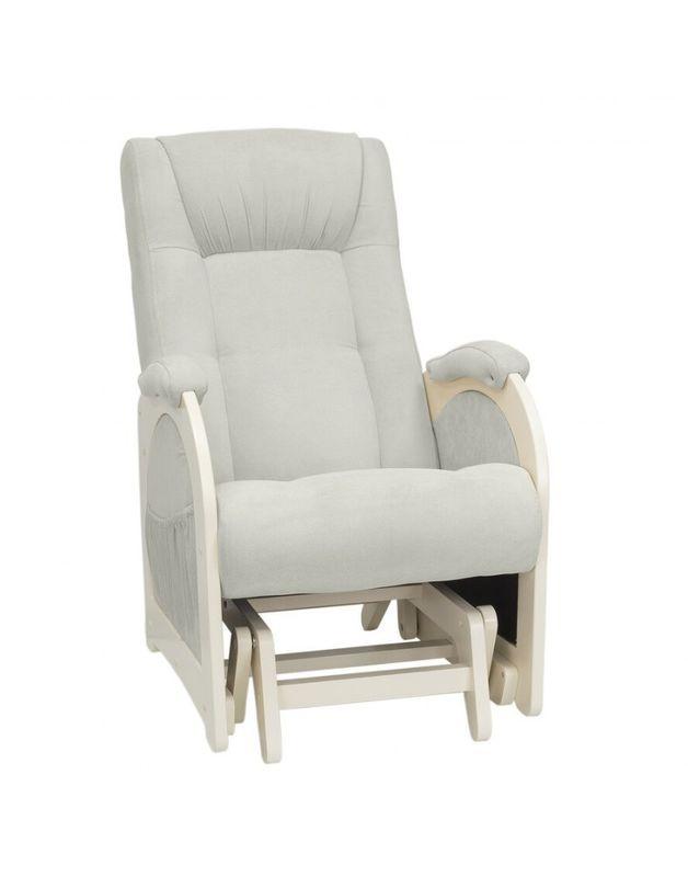 Кресло Impex Кресло-гляйдер Модель 48 б.л. экокожа (Антик-крокодил) - фото 5