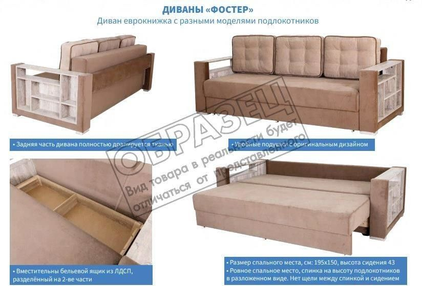 Диван Мебель Холдинг МХ12 Фостер-2 [Ф-2-2НП-2-Gfox-Gch] - фото 4