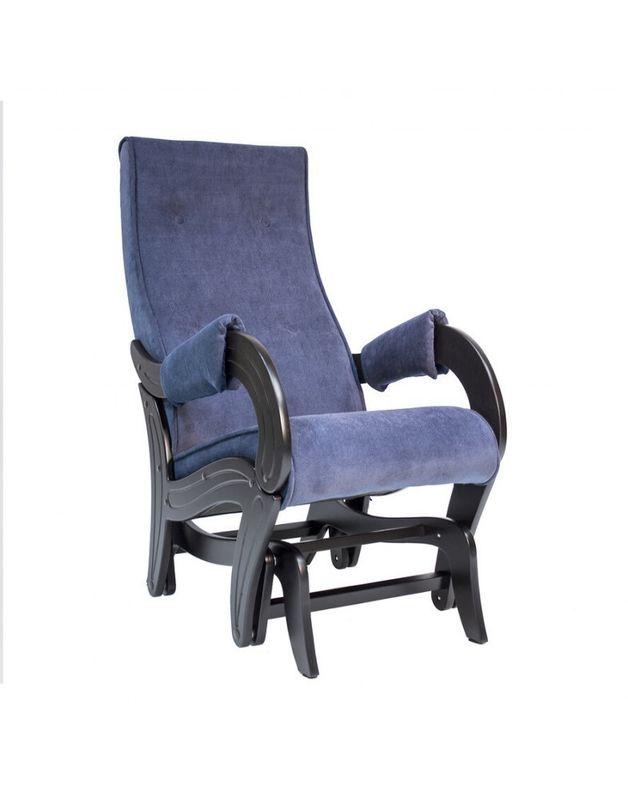 Кресло Impex Кресло-гляйдер Модель 708 Verona (denim blue) - фото 1