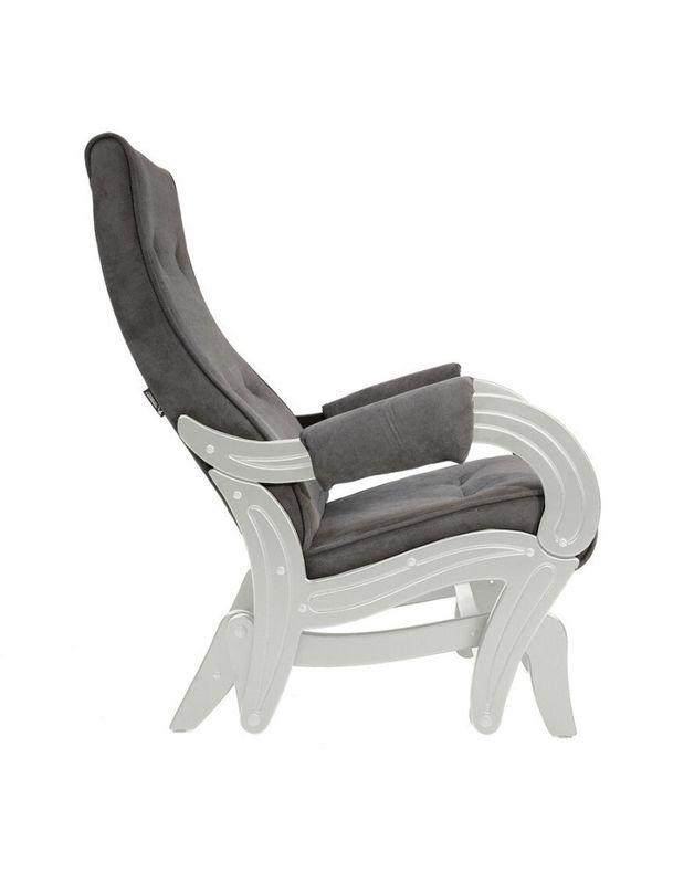 Кресло Impex Кресло-гляйдер Модель 708 Verona сливочный (Antrazite grey) - фото 6