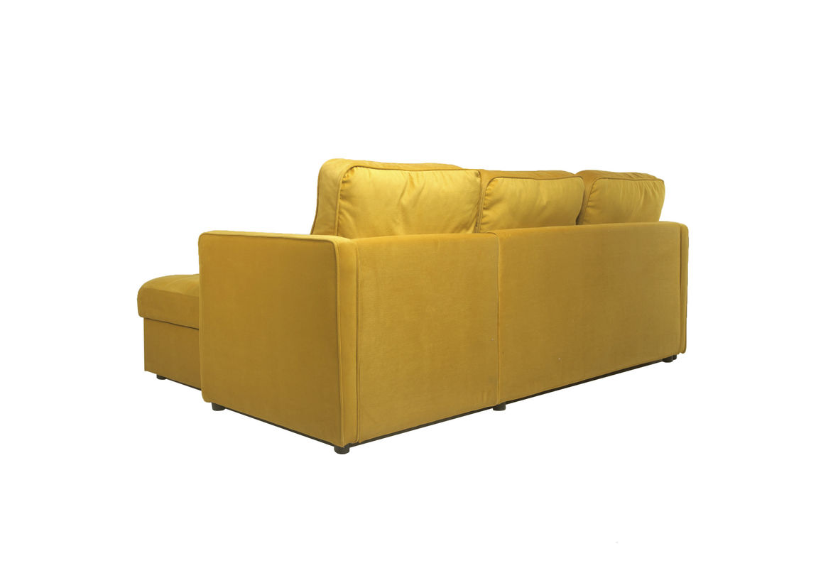 Диван Puffo Ливерпуль Velvet Yellow - фото 5