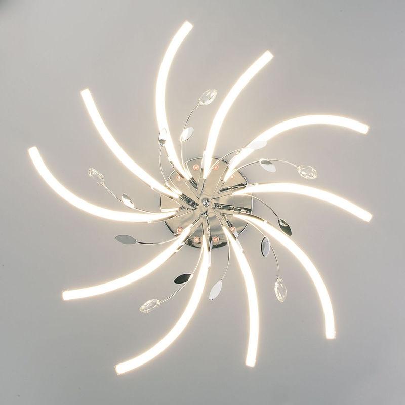 Светильник Евросвет Windmill 90125/10 хром - фото 3