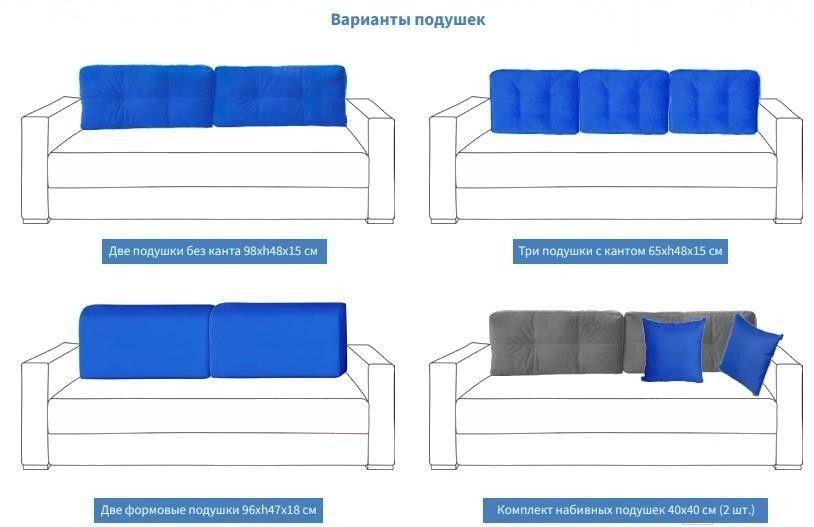 Диван Мебель Холдинг МХ11 Фостер-1 [Ф-1-3-414-4B-OU] - фото 4
