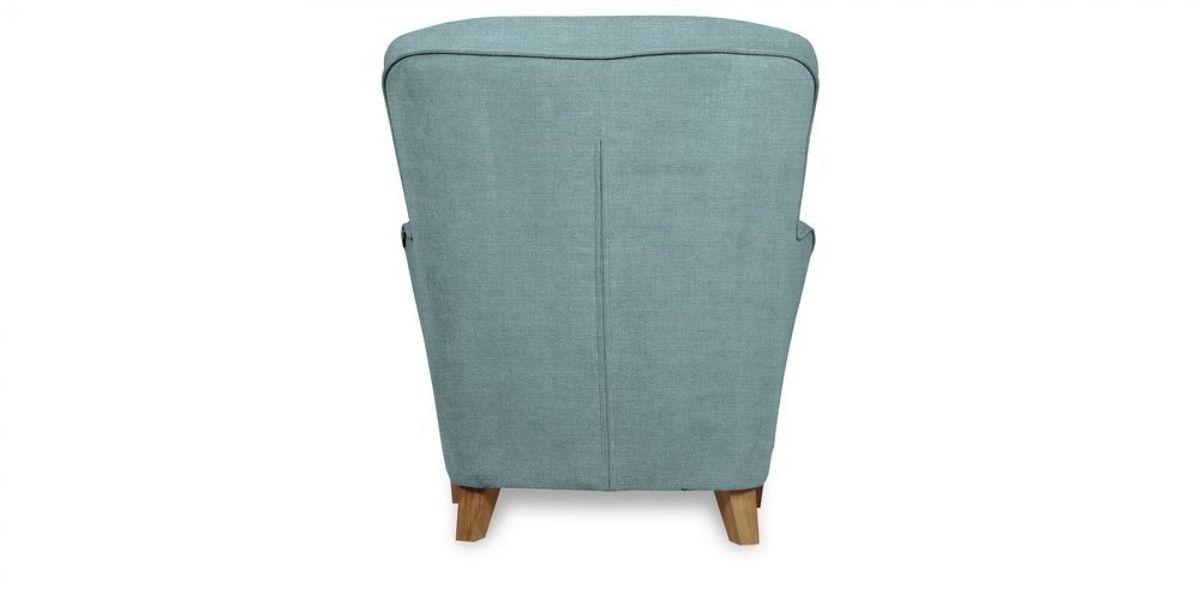 Кресло WOWIN Нуар (Бледно-васильковая рогожка) - фото 5