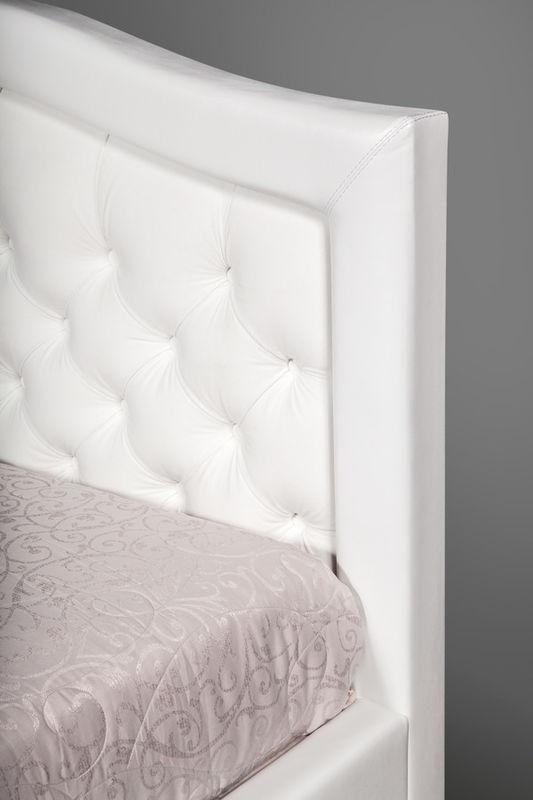 Кровать Grand Manar Дарина с фигурным изголовьем (180x200 ортопедическое основание) - фото 2